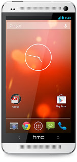 HTC One with Android 4.4 Kitkat Update
