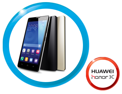 Huawei Honor 3C Zong Offer
