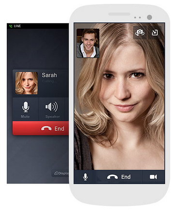 Line Audio Video Calls