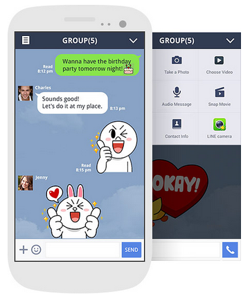 Line Instant Messaging
