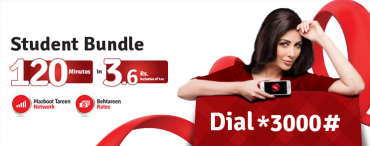 Mobilink Introduced Student Bundle at Rs 3 Only