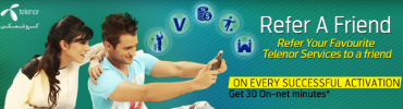 Telenor Refer a Friend Service Gives 30 Minutes Free