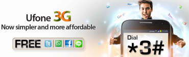 Ufone Revamped Its Existing 3G Packages